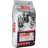 Blitz Adult All Breeds Poultry (для взрослых собак всех пород, с домашней птицей)