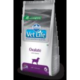 Farmina Vet Life Dog Oxalate (для собак при лечении и профилактики мочекаменной болезни)